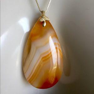 Jewelry - Genuine Agate Pendant